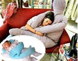 almohada abrazos