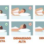 almohada baja o alta para cervicales
