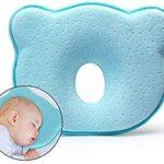 almohada bebé plagiocefalia