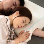 almohada brazo pareja