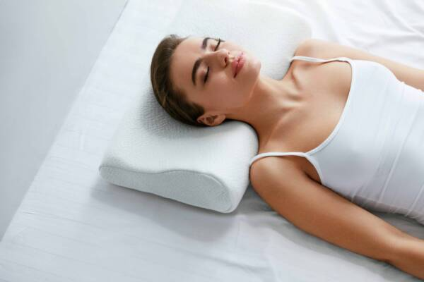 almohada cervical o normal