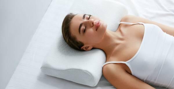 almohada cervical para dormir boca arriba