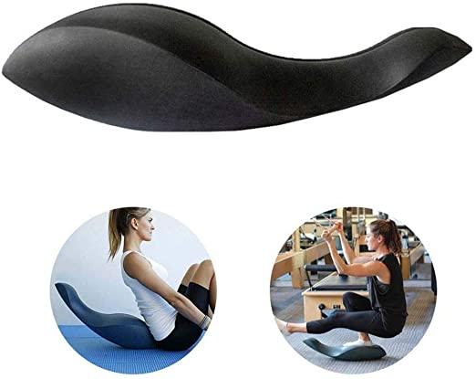almohada cervical para yoga