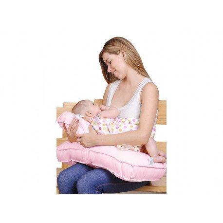 almohada de lactancia doble