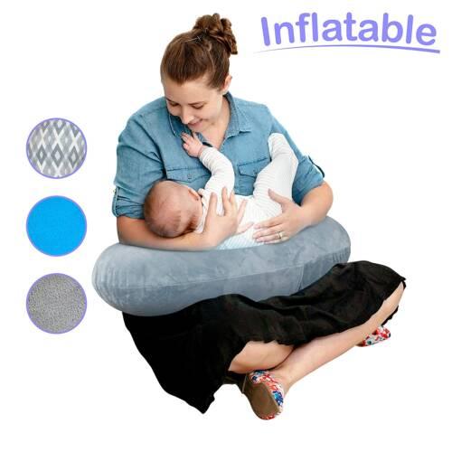 almohada de lactancia inflable