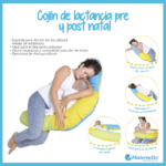 almohada de lactancia para dormir