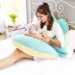 almohada de lactancia prenatal