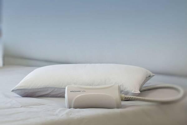 almohada inteligente anti ronquidos de goodnite