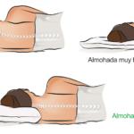 almohada muy baja