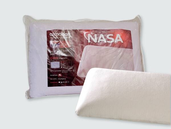 almohada viscoelastica nasa