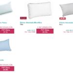 almohada viscoelastica vs microfibra
