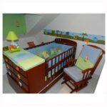 cama cunas de madera