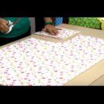 como hacer un juego de sabanas para cuna