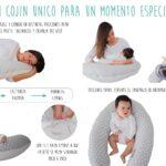 como se usa almohada de lactancia