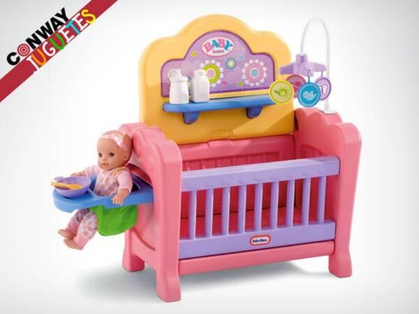 cuna bebe juguete munecas