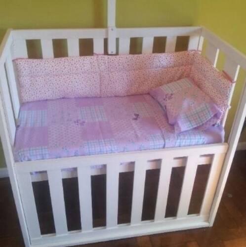 cuna de bebe con colchon