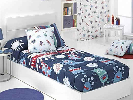 edredon ajustable cama 90