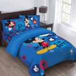 edredon ajustable mickey mouse