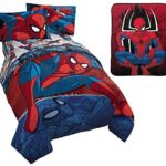 edredon ajustable spiderman