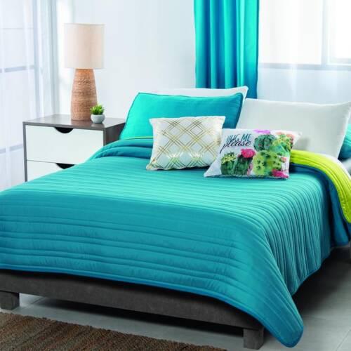 edredon azul turquesa