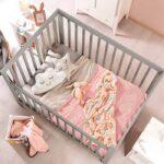 edredon bebe rosa