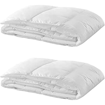 edredon blanco cama doble