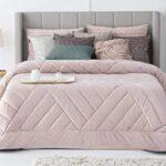 edredon rosa cama 150