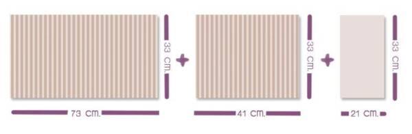 medidas almohada cuna
