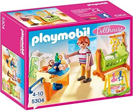 playmobil cuna bebe
