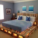 somier de cama con palets