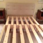 somier plegable madera