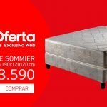 sommier plaza y media geant